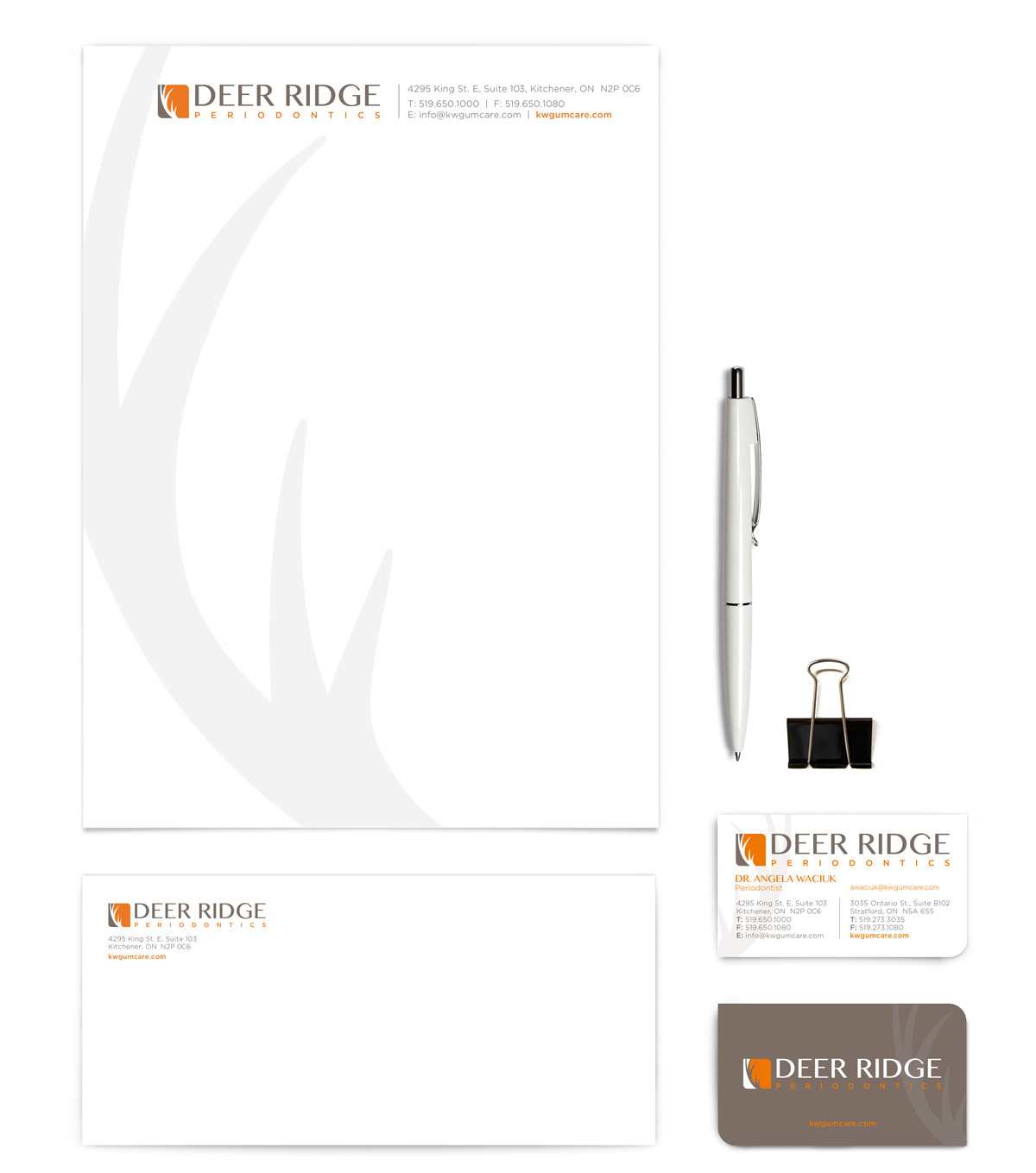 Deer Ridge Stationery Design