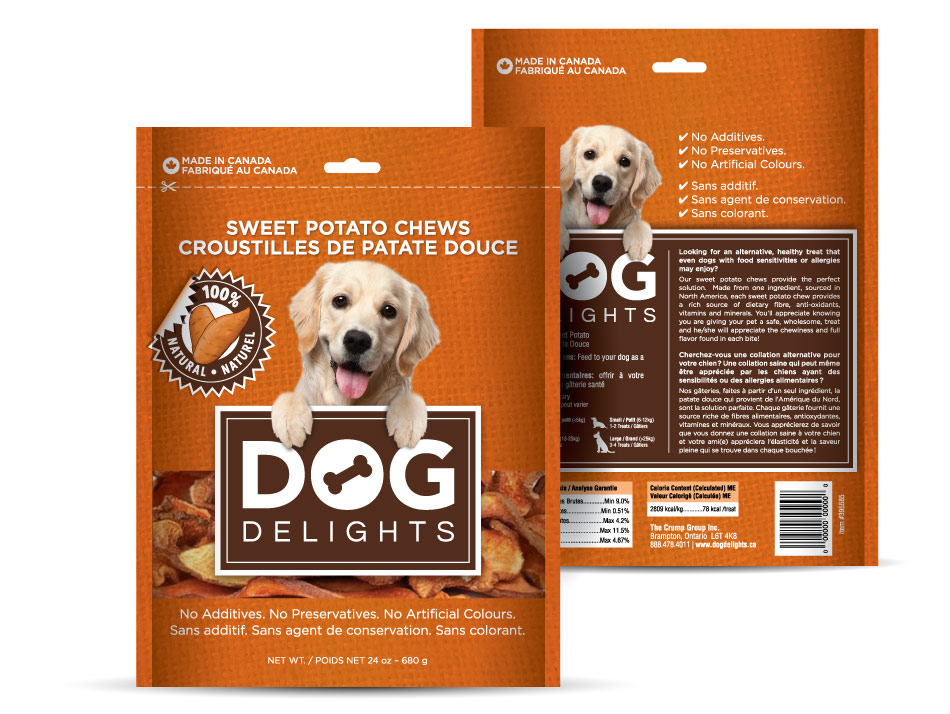 Dog Delights Packaging