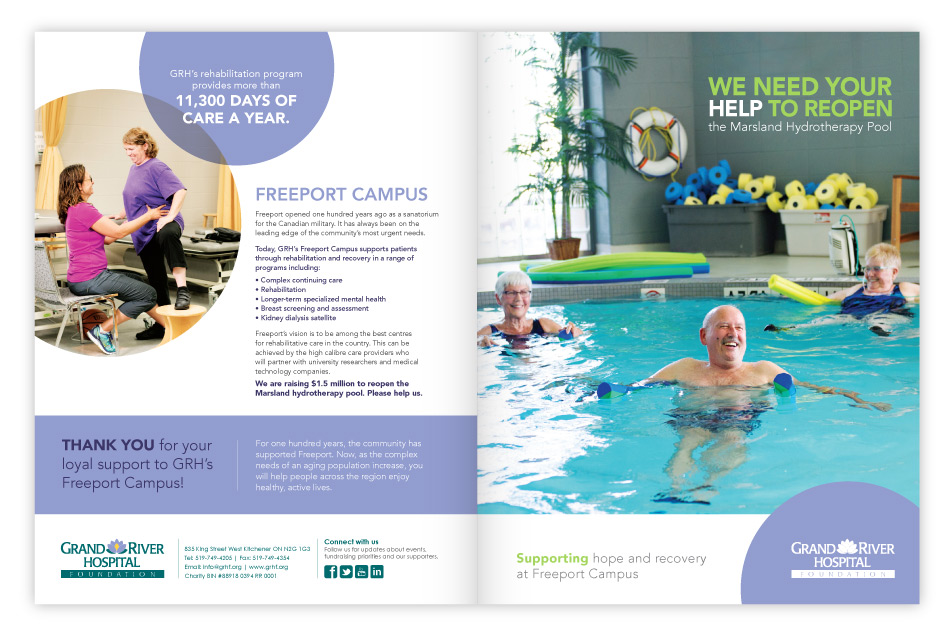 GRHF Donor Reach-Out Brochure