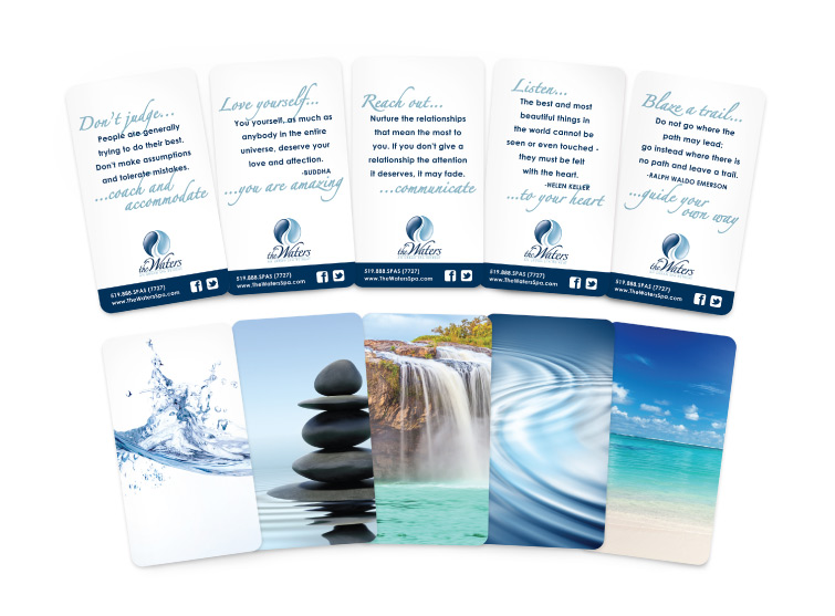 The Waters Spa Wisdom Cards