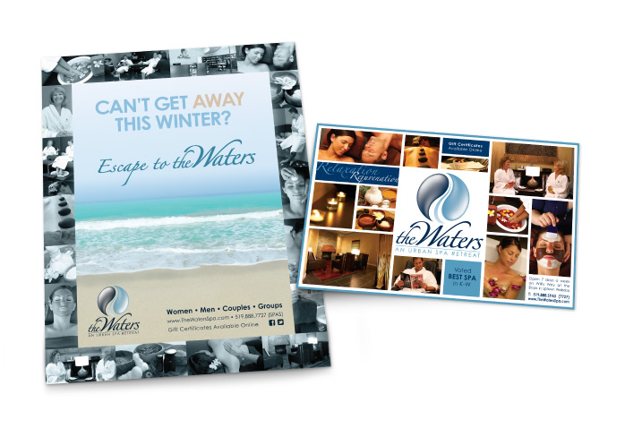 The Waters Spa Magazine Ads