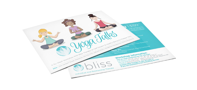 Yoga Talks Postcard