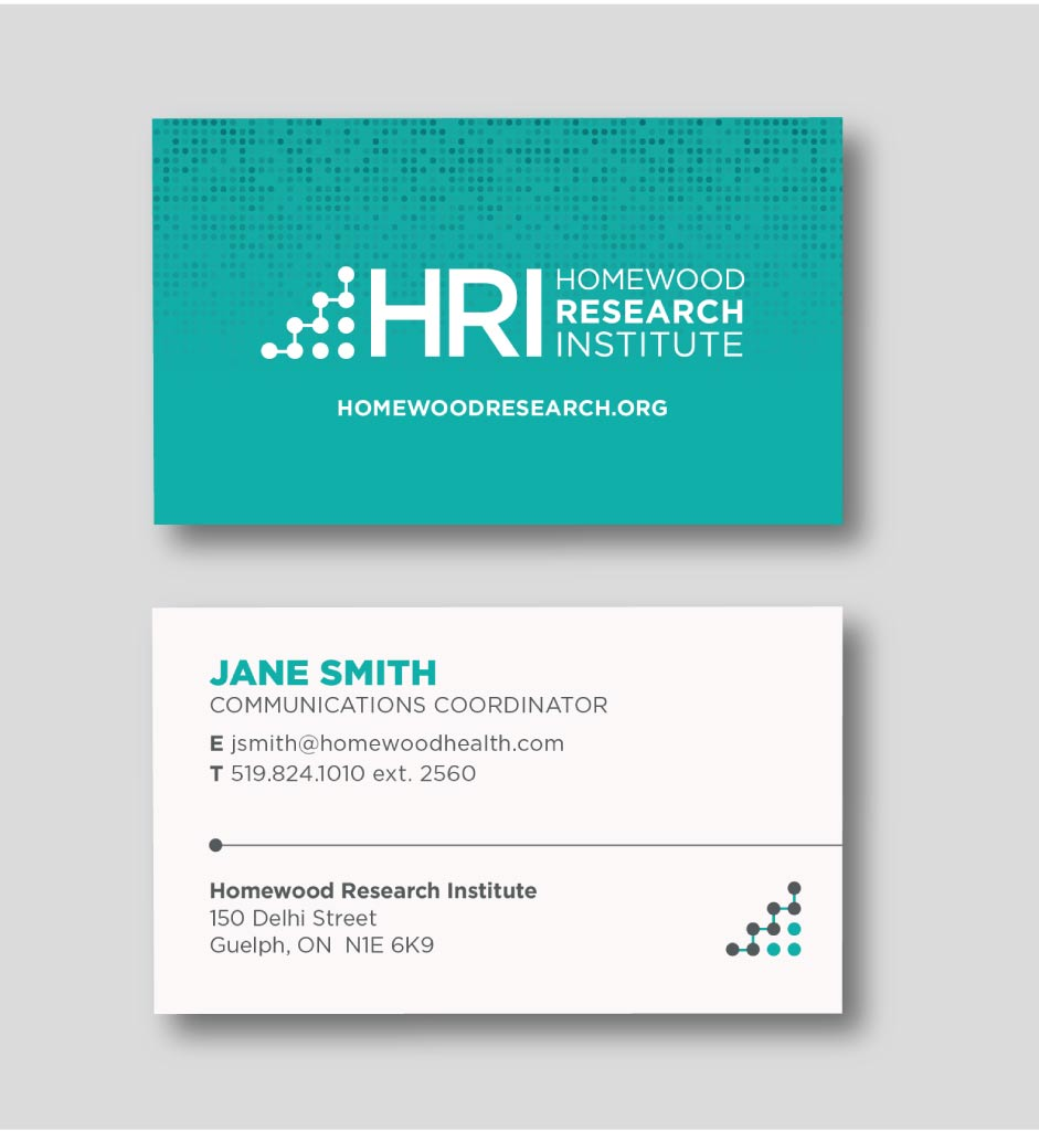 HRI Business Card Design