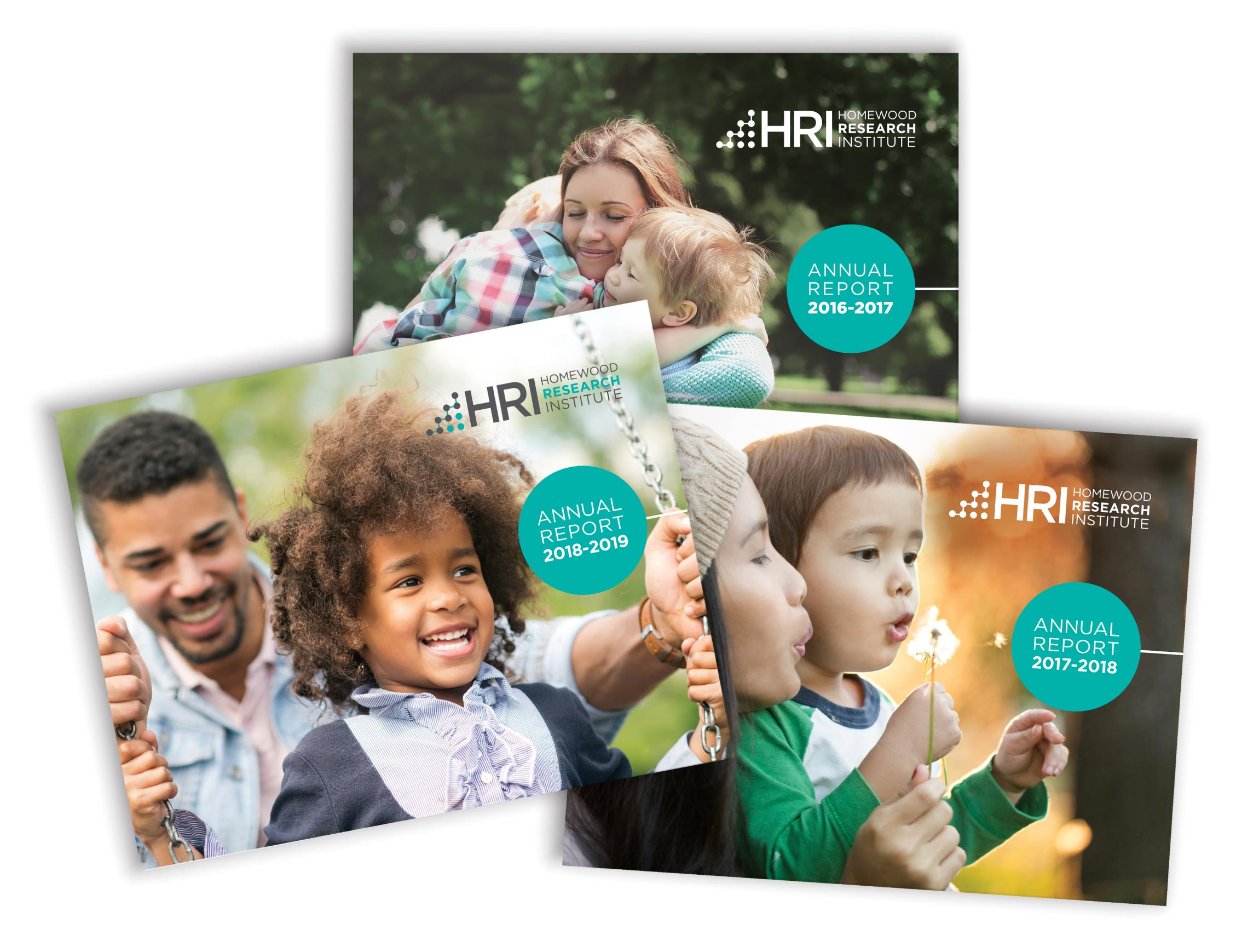 HRI Annual Report Design for 2016 to 2019