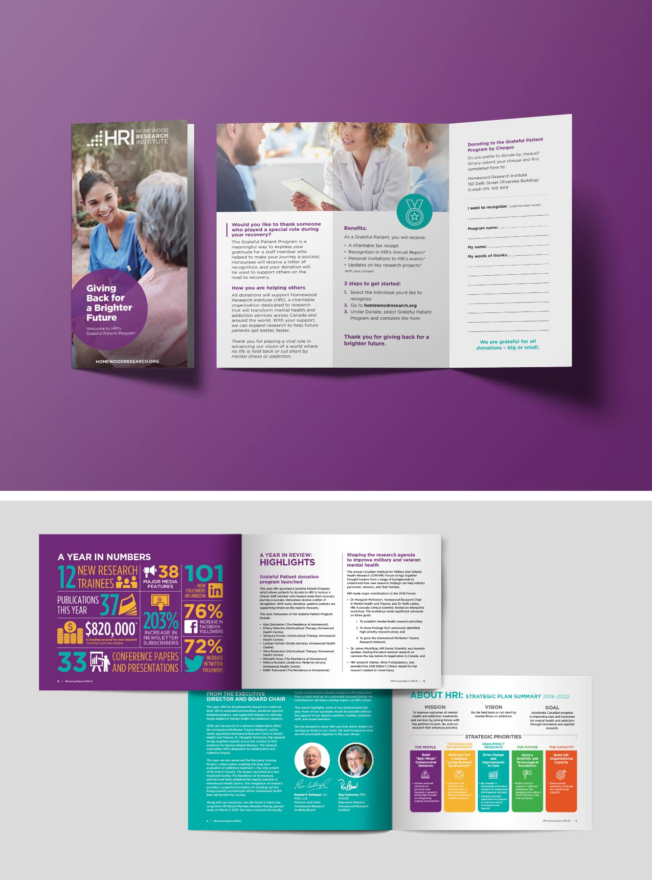 HRI Marketing Collateral and Infographic Design
