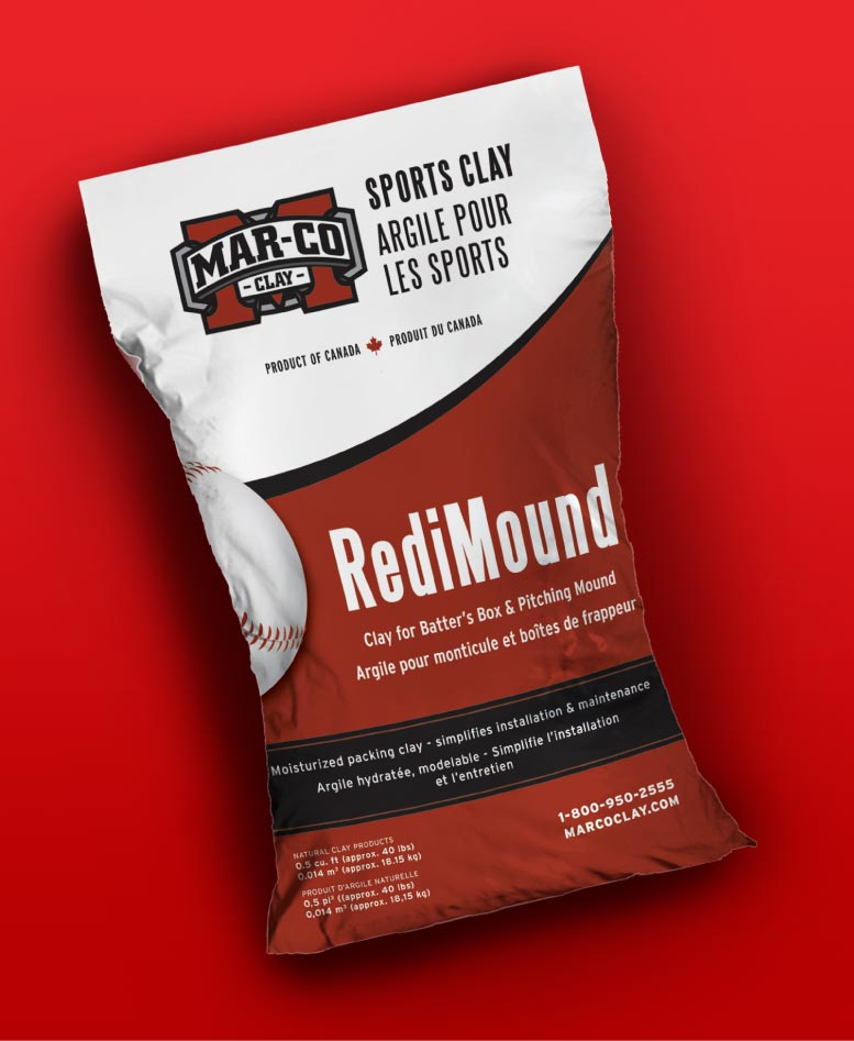 Mar-co Clay RediMound Packaging